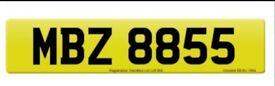 MBZ8855 CHERISHED NUMBER