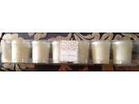 Next new Very Vanilla candles pack of 6
