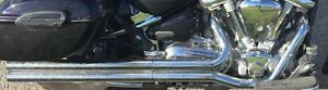 Exhaust Road star 1600 Vince & Hines long shot 1999/2003