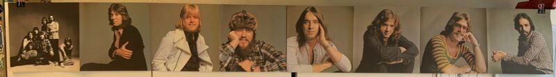 VINTAGE CHICAGO RECORD ALBUM BAND MEMBERS POSTER - FROM THE 1972 CHICAGO V ALBUM