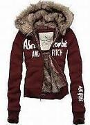 Abercrombie Fur Hoodie Womens