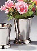 Mint Julep Straws Silver Ebay