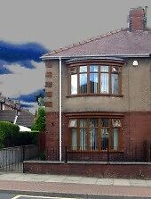 2 Bed Semi-detached house, to let, In Dale Road Shildon
