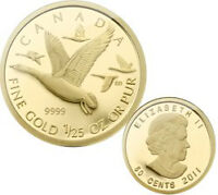2011 GOLD COIN - CANADA GEESE