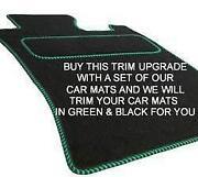 Green Car Mats