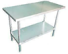 Stainless Steel Table - Ships from Langley - BEST PRICE on a Commercial Work Table for Restaurant - New