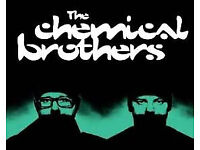 Chemical Brothers Ticket Print Works London December 2 2017