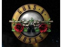 One Guns and Roses Ticket