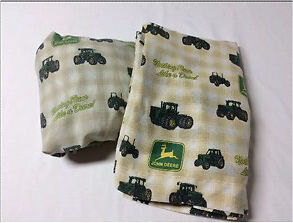 John Deere Twin fitted and flat sheets London Ontario image 2