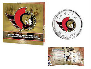 2005 / 2006 Hockey Coin Sets with Colourized Quarter Windsor Region Ontario image 3
