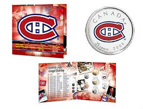 2005 / 2006 Hockey Coin Sets with Colourized Quarter Windsor Region Ontario image 2