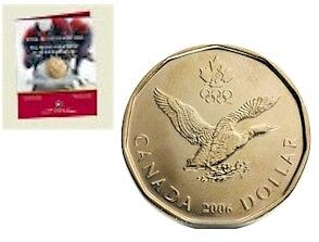 Official First Day 2006 Lucky Loonie Windsor Region Ontario image 1