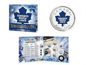2005 / 2006 Hockey Coin Sets with Colourized Quarter