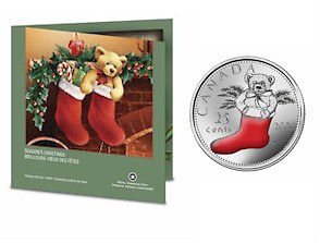 2005 and 2006 Holiday Gift Sets with Colourized Quarter