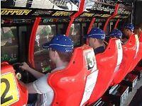 Racing simulator Hire and sales