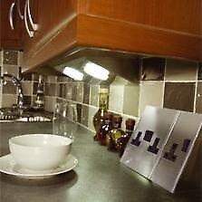 Aurora Freelight Kitchen 2 Gang 13A Double Socket x 2