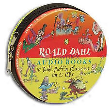 ROALD DAHL AUDIO BOOKS - 10 Classics on 27 CDs    NEW