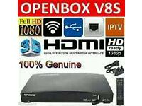 Openbox v8s fully loaded will deliver and fit just need dish and internet