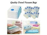 25 Storage Bags (Use Vacuum Cleaner To Draw Air Out) In Different Sizes