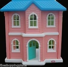 Child Size Barbie Doll House Little Tikes Furniture Accessories