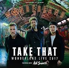 3 Seated Take That tickets