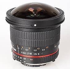samyang 8mm fisheye lens