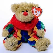 Piccadilly the Clown Bear Ty Attic Treasure