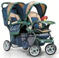 Double Stroller Jeep brand or Graco Quattro tour duo Double