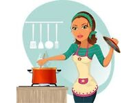 INDIVIDUAL REQUIRED TO COOK, CLEAN AND IRON THREE TIMES PER WEEK £9 PH. MIN 6 HOURS PER WEEK!