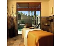 Relaxing. Full body massage therapy