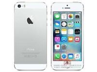 Apple iPhone 5s Factory unlocked, 4G and Good Conditions Silver