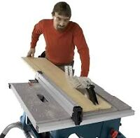 TABLE SAW CUTTER AND MILLWORK ASSEMBLY