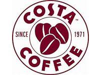 Barista - Costa Coffee Rugeley - 20-30 hours per week