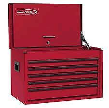 Snap on Road Chest, Heavy Duty, 5 Drawers, Royal Blue