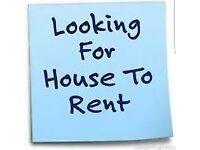 Looking to rent a 4/5 Bedroom House