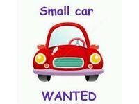 Small Manual Car Wanted
