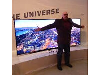 """65"""" Samsung Curved 4k . ,need quick sale.selling it for £900, price is negotiable."""