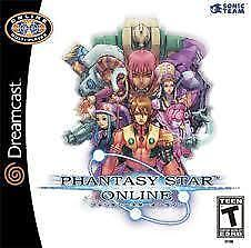 DreamCast Video Game Collection: Phantasy Star Online