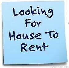 I'm looking for a house to rent or rent to own