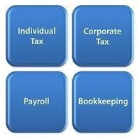 Tax Services (through Email or Fax) !!
