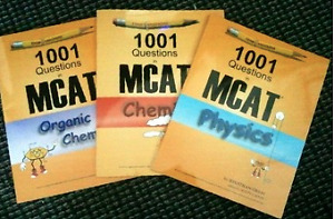 MCAT Study Package (Exam Krackers and Princeton Review)