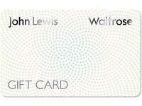 Gift cards John lewis, topshop, miss selfridges, debenhams, virgin atlantic...