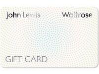 Waitrose / John Lewis Gift card. Worths 20£