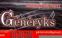 Orchestre  LES GÉNÉRYKS