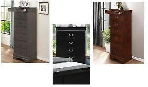 New in Boxes!!!  Lingerie Chests in Black, Grey or Cherry Regular $900 Now $290 Taxes Included