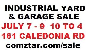 INDUSTRIAL GARAGE AND YARD SALE - 100K OF BOLTS & SCREWS