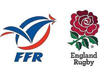 2 x France v England Six Nations Tickets for Sale