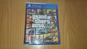 GTA 5 Brand New, Sealed (Still in plastic wrap) for PS4