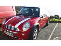 MINI COOPER 1.6 3DR with pepper pack