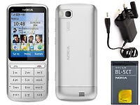 Original Nokia C3-01,Unlocked, New Condition,Comes with Charger. Bargain Price.Beautiful Handset